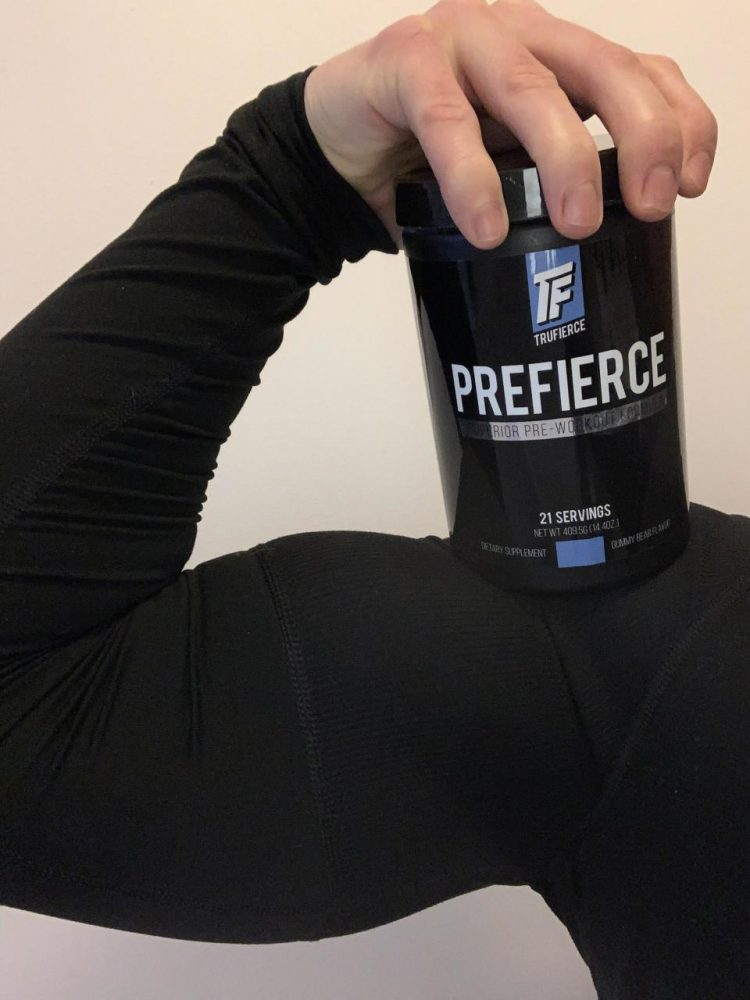 prefierce pre workout supplement